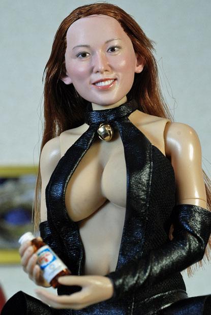cat style corset0129