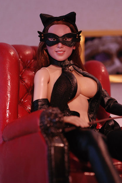 cat style corset0108