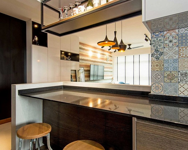 Blue-Moroccan-tiles-add-color-to-the-contemporary-kitchen.jpg