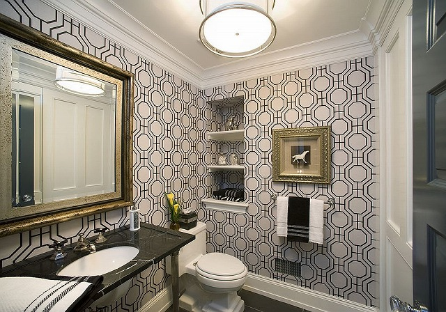 Modern-powder-room-with-geo-style-wallpaper.jpg