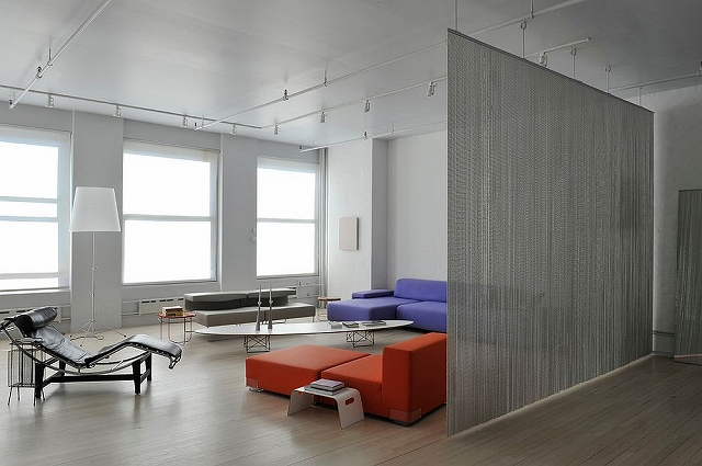 Wire-mesh-used-as-room-divider-in-the-contemporary-living-room-of-New-York-home.jpg