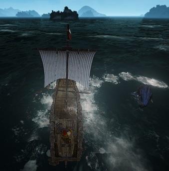 クジラ発見