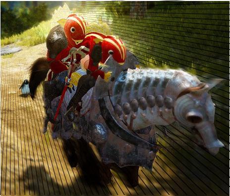 速い!速いぞキリュウさんの馬!!