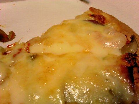 チーズたっぷり