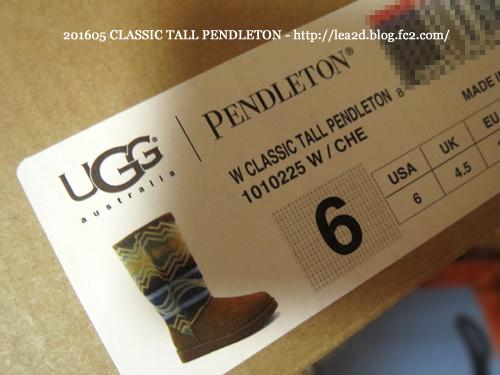 201605 ハワイでUGGを買う その1 CLASSIC TALL PENDLETON (クラシック トール ペンドルトン)