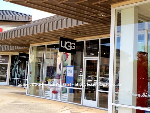 2016年5月 ハワイのアウトレットなワイケレでUGGのブーツを買う
