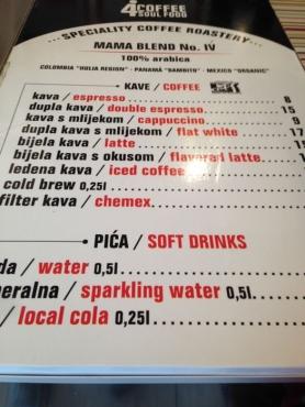 menu_4coffee soul food