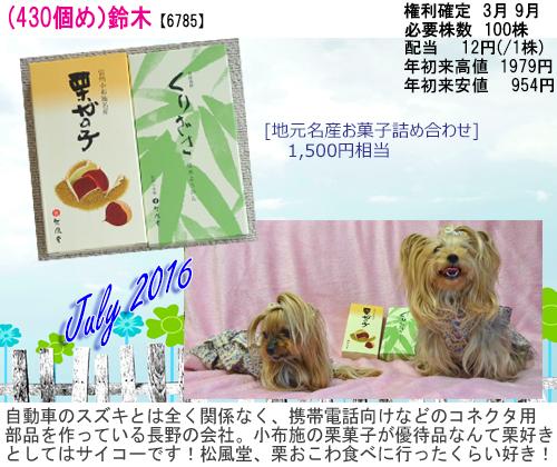 (430)2016年07月到着 鈴木