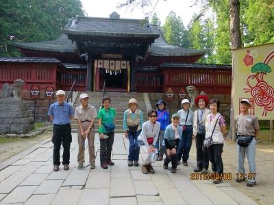 中門・神殿