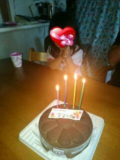 ママのバースデーケーキ