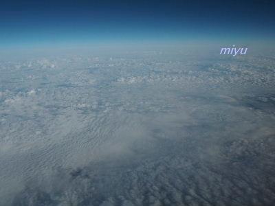 ゲレンデのような雲