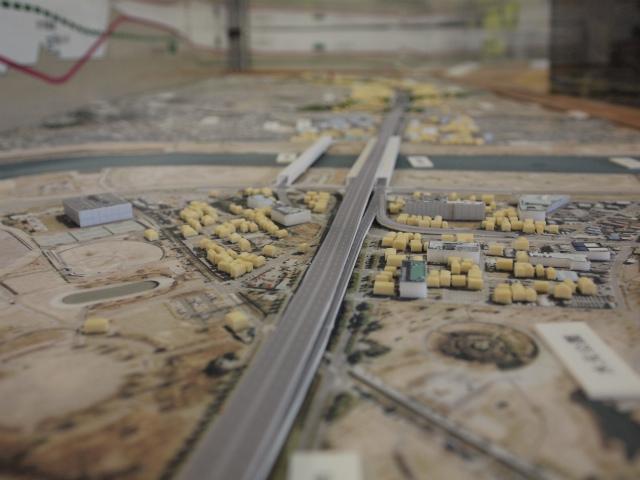 三郷JCT側から湾岸方面を。そういえば三郷JCT付近でまた拡張工事してますね。