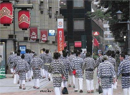 山笠の若衆