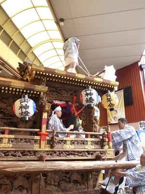 守居神社例祭商店街の地車1610