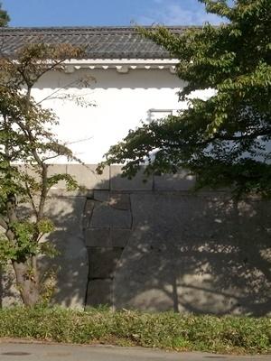 大阪城の石垣1611