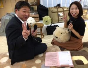 FM滋賀店舗紹介2F鍵和田さんと