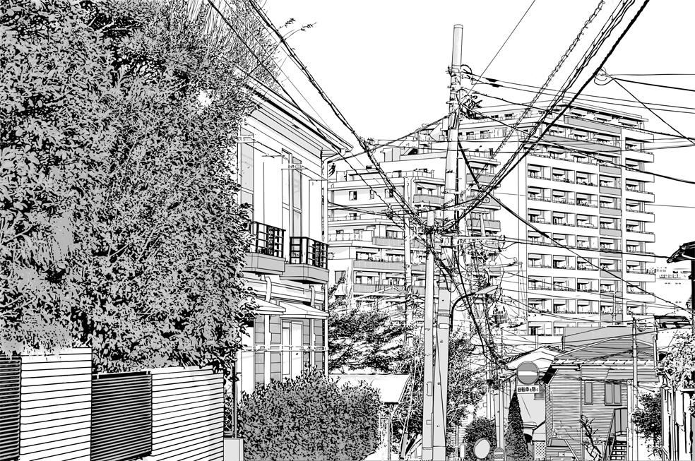 写真加工・漫画背景・住宅014
