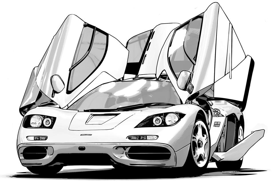 写真加工・漫画背景・車03