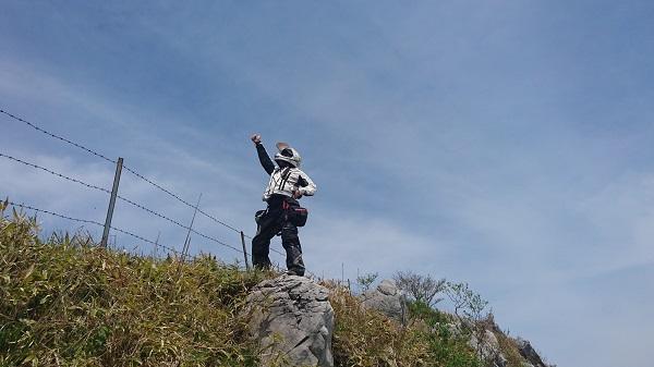 四国ツーリング2016スーパー林道-3-023b