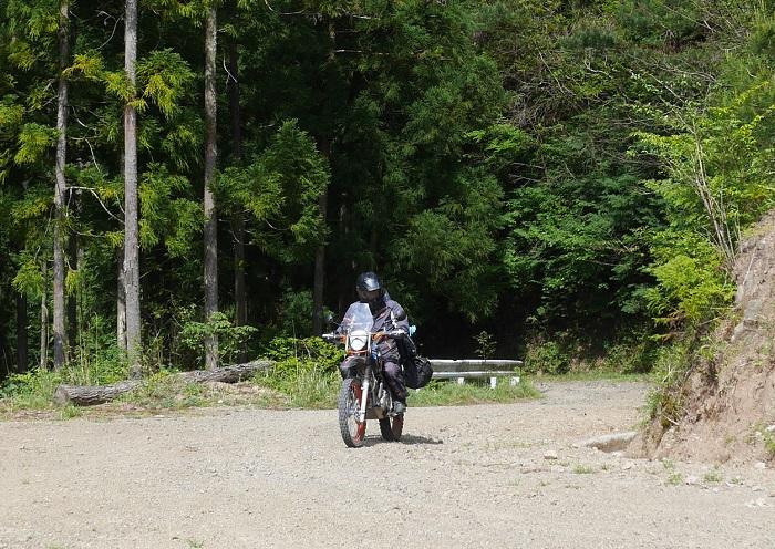 四国ツーリング2016スーパー林道-3-027b