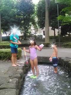 ブログ2 0816水遊び