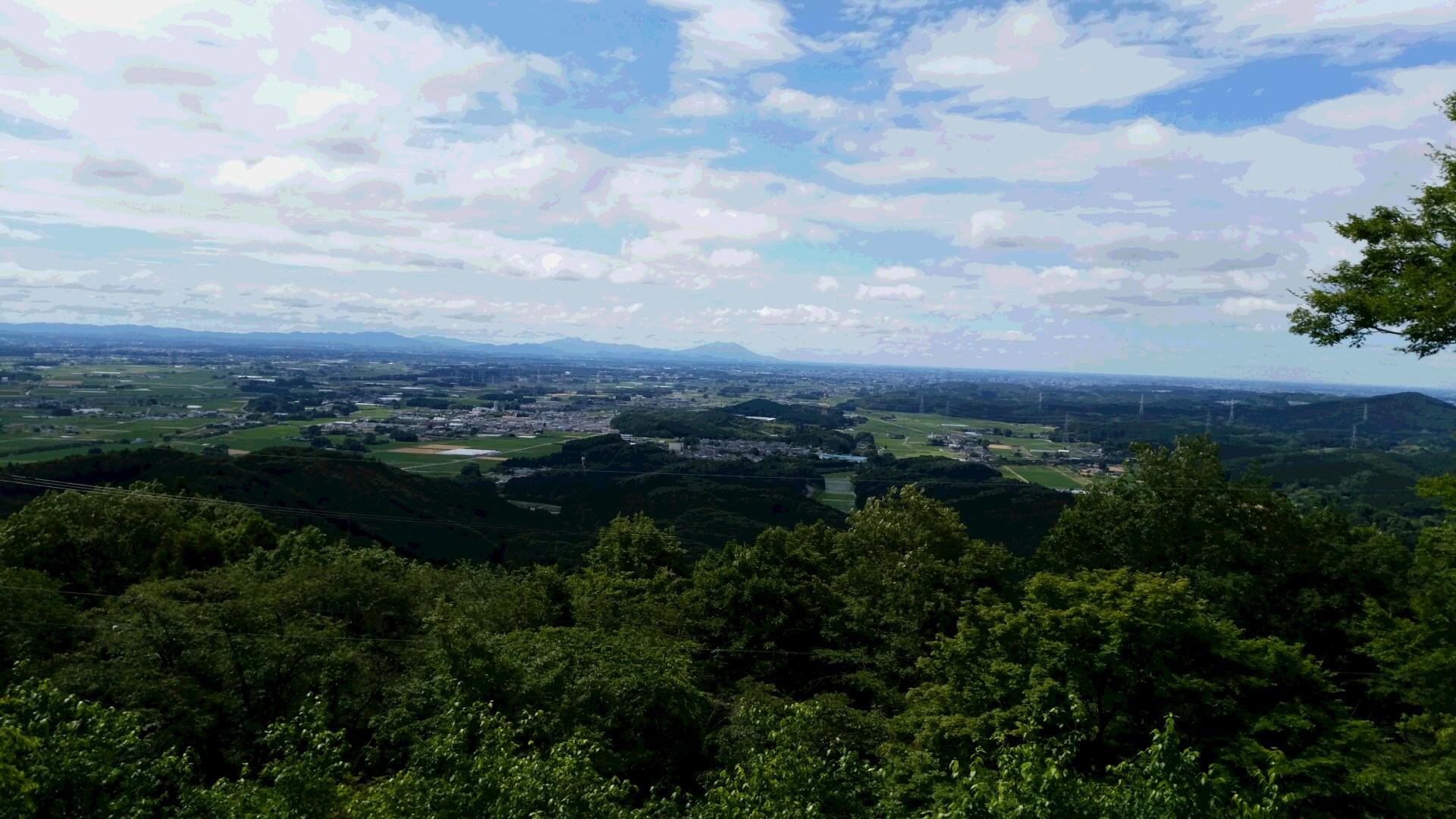 羽黒山景色