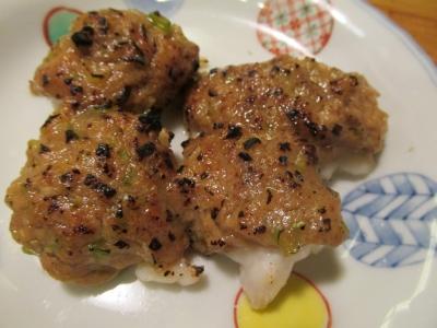 カワハギの肝味噌焼き2