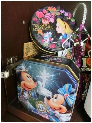 ディズニー缶コーナー