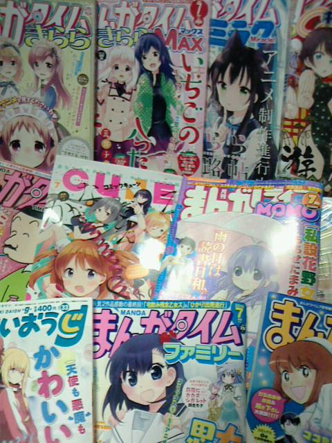 2016/06/01 最近買ったもの5月分 雑誌