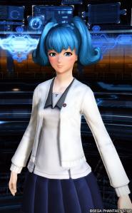 ナウラ三女髪型