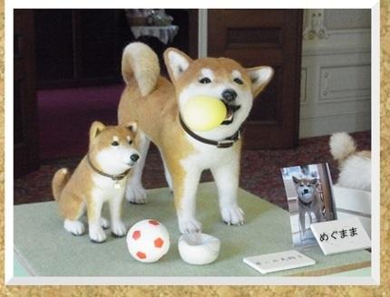 コルクボード・フエルト犬2-1