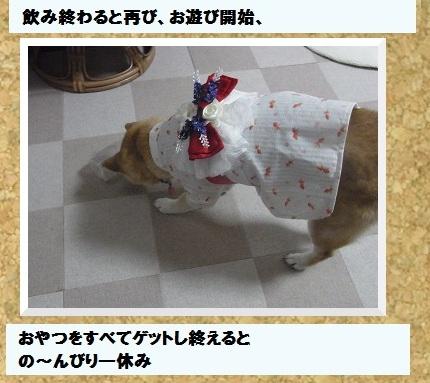 コルクボード浴衣4