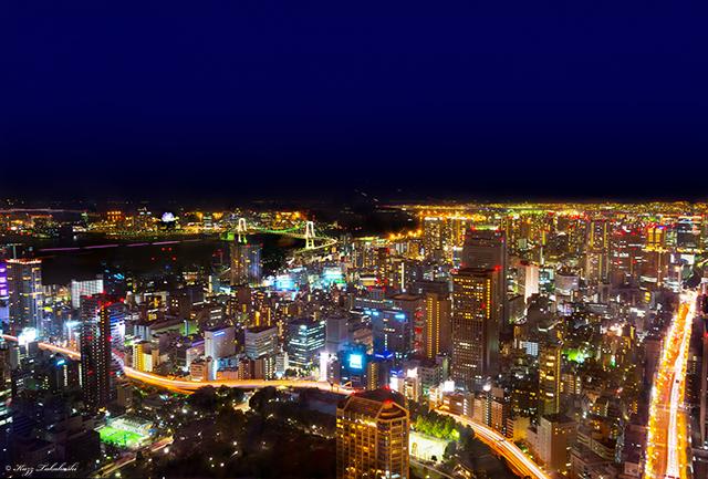 東京タワー-夜景-HDR