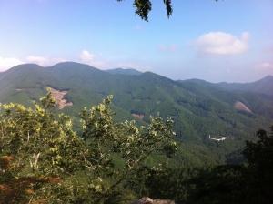 10岩場からの眺め20160731