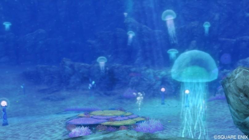 水の領界2オーフィーヌ海底 静かの海