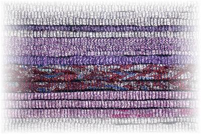 裂き織りマフラー4-2
