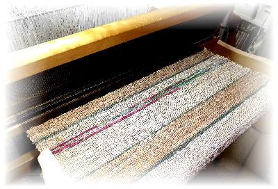 裂き織りマフラー6-1