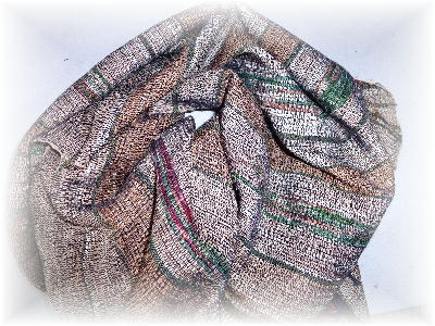 裂き織りマフラー7-1