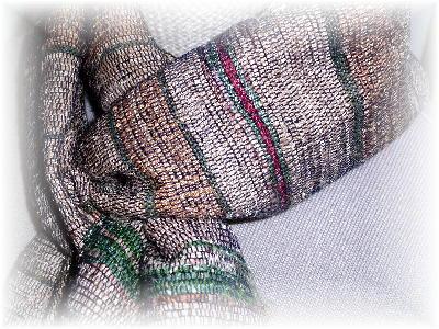 裂き織りマフラー7-4