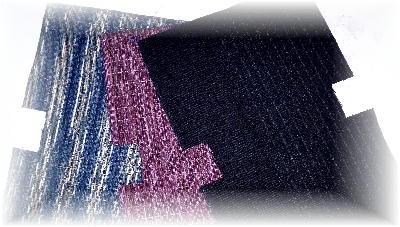 裂き織りバッグ1