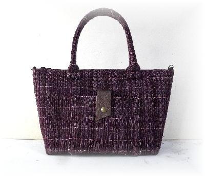裂き織りバッグ3-1