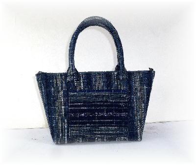 裂き織りバッグ4-1