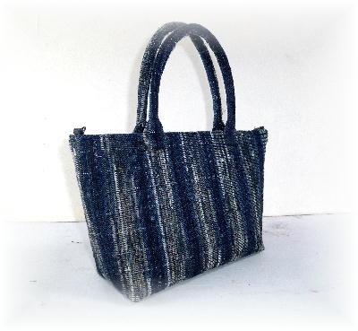 裂き織りバッグ4-3