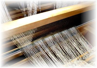 裂き織りマフラー8-1