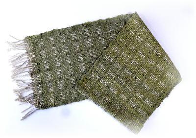 裂き織りマフラー10-1