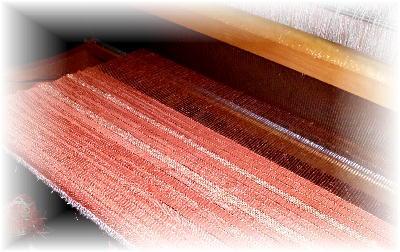 裂き織りマフラー11-1