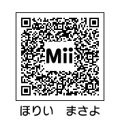 堀井雅世(QRコード)
