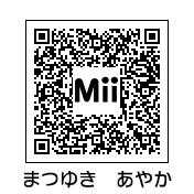 松雪彩花(QRコード)