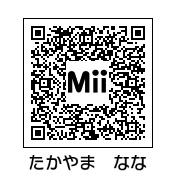 高山奈々(QRコード)