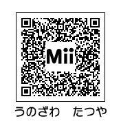 宇野沢達也(QRコード)